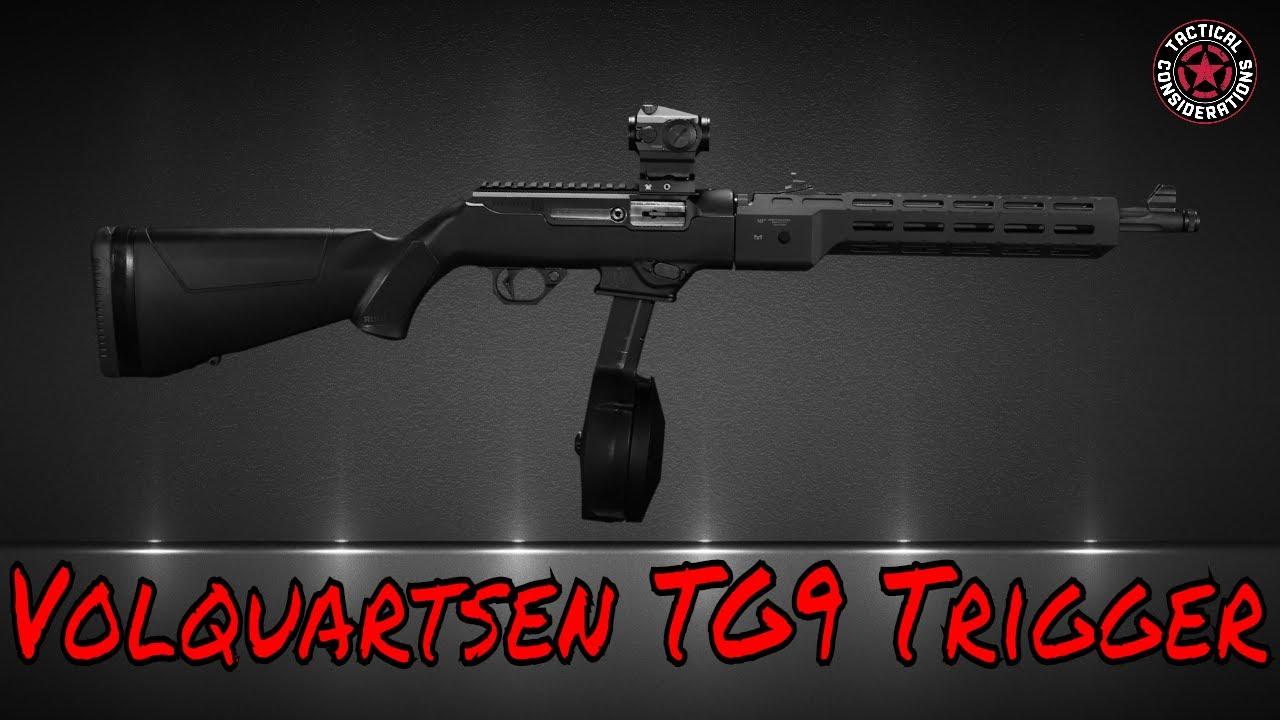 Volquartsen TG9 Trigger For Your Ruger PCC