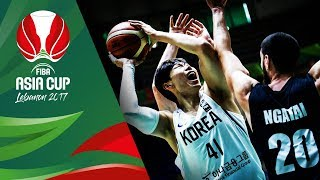 Korea v New Zealand - Highlights - 3rd Place - FIBA Asia Cup 2017