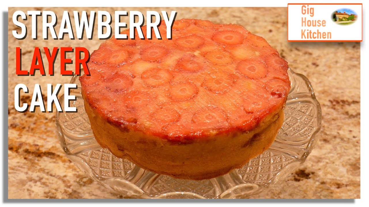 Let's Make... STRAWBERRY CAKE | Store Cupboard Recipe