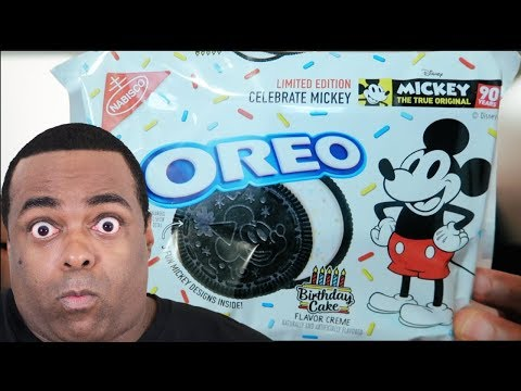 OMG! MICKEY MOUSE OREOS! [90 Years Limited...