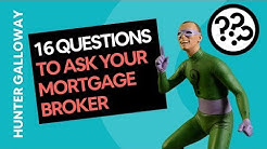 16 Questions to Ask Your Mortgage Broker in Australia