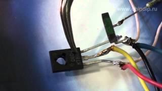 Проста схема світлорегулятора