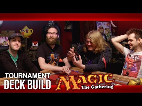 Magic: The Gathering Tournament - Sealed Deck Build