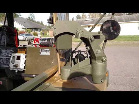 M561 Gama Goat M60 Weapon Platform
