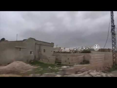 In pictures : Syrian Arab Army liberates several villages in southern Idleb Governorate