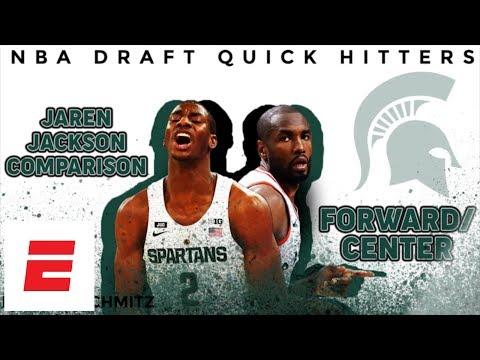 Jaren Jackson Jr. 2018 NBA Draft Comparison: Serge Ibaka | DraftExpress | ESPN
