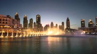 Dubai fountain in 4K Note5