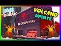 🔴ROBLOX JAILBREAK NEW 🌋VOLCANO🌋 UPDATE! Hospital + New AMBULANCE! | +GIVEAWAY