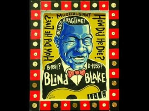 Doggin' Me Mama Blues (Blind Blake, April 1928) [Remastered]