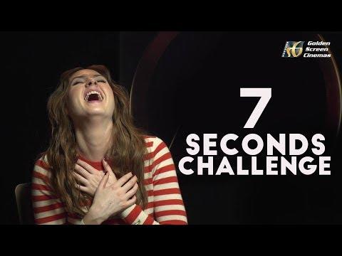 7 SECONDS CHALLENGE WITH KAREN GILLAN  GSC Exclusive   Avengers: Infinity War