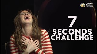 7 SECONDS CHALLENGE WITH KAREN GILLAN - GSC Exclusive Interview - Avengers: Infinity War