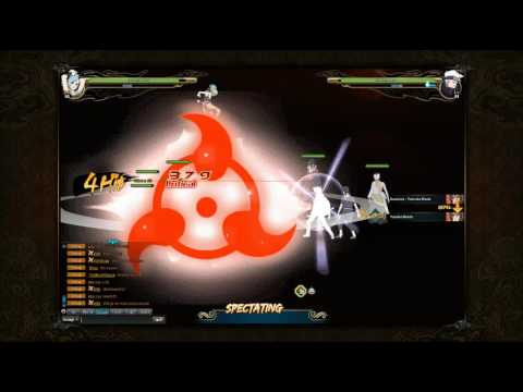 Naruto Online: Facing the #1 High Powered Player in the Server