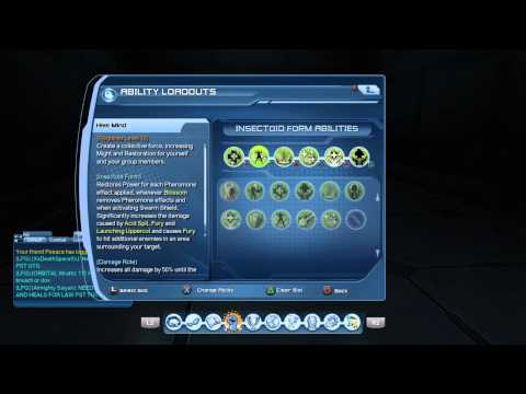 DCUO nature heal LOADOUT