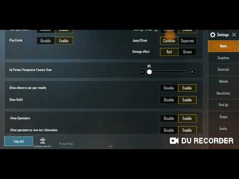My Four Finger Claw/ Controls I NO RECOIL!! I PUBG Mobile 2019