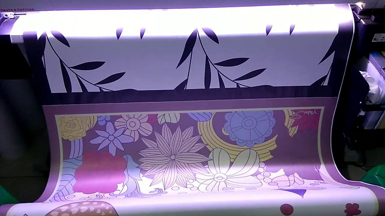 Proses Pembuatan Kerudung Print Segi Empat by @shawlmate11 - YouTube