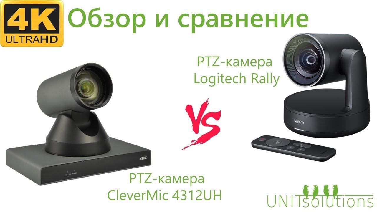 Обзор и сравнение PTZ-камеры Logitech Rally