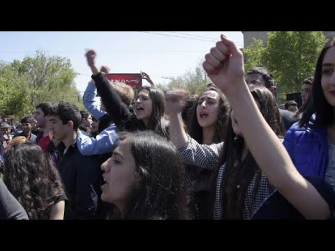 Armenians protest ex-leader's move to stay in power