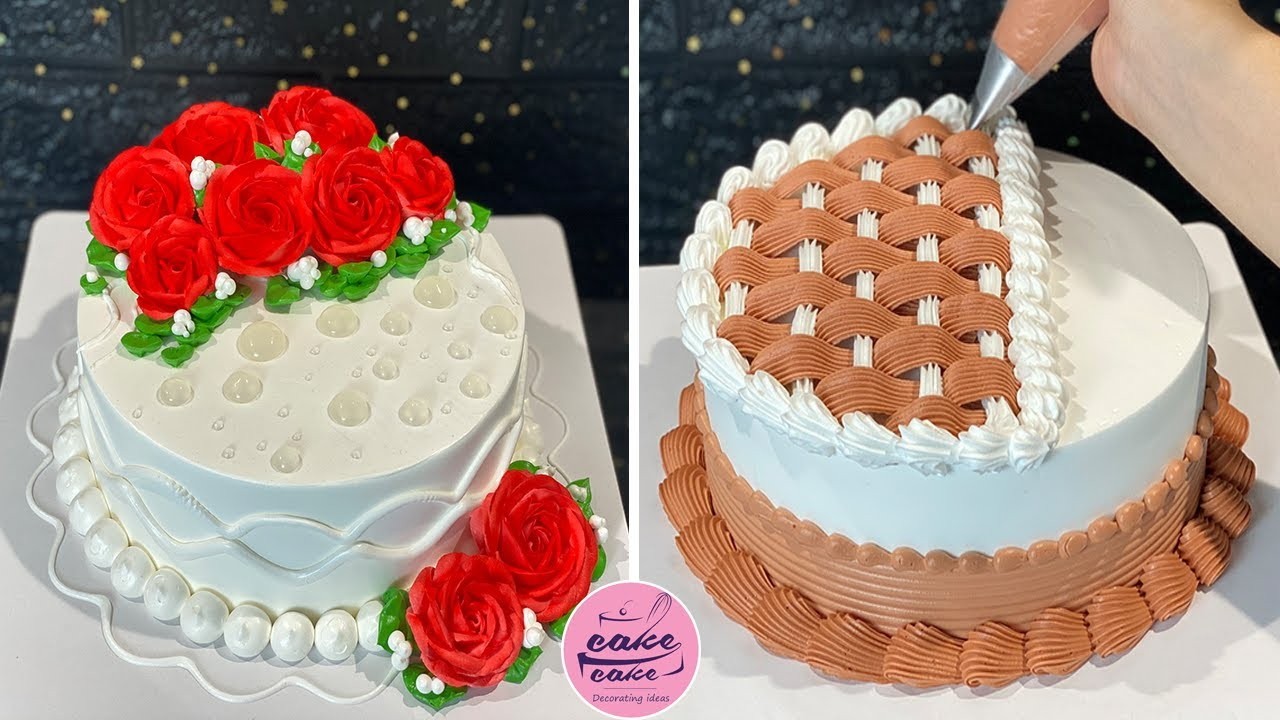 Creative Rose Cake Decorating Ideas For Your Lover   So Yummy Cake Decorating Tutorials   Cake Video