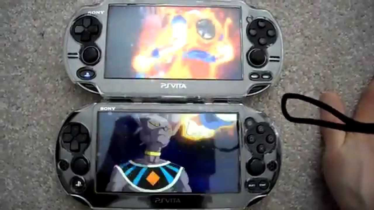 Review Comparison Playstation Ps Vita 2000 Slim Vs Versus Ps Vita 1000 Phat Fat Part 2 Youtube