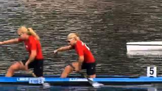 2013 ICF Canoe Sprint World Championships Duisburg C2 WOMEN 500m