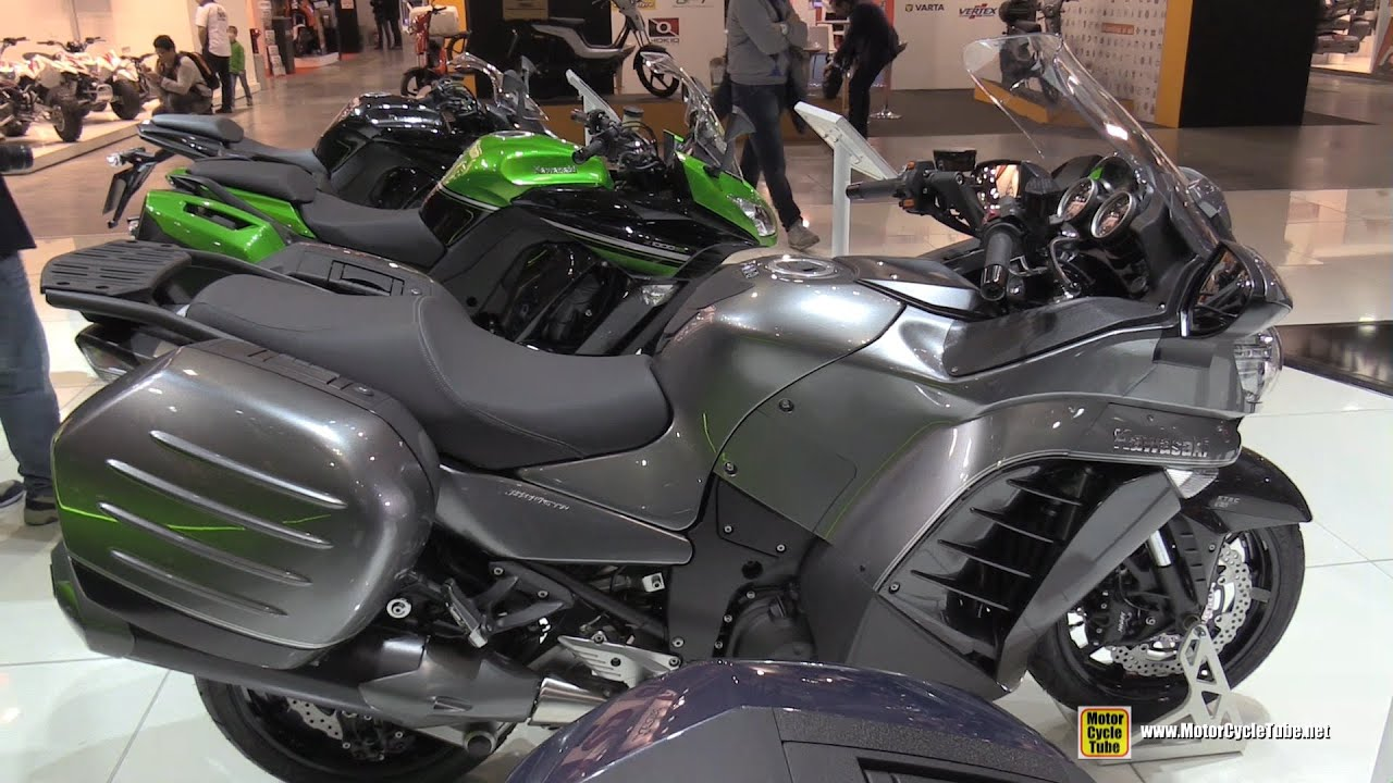 2016 kawasaki 1400 gtr walkaround 2015 eicma milan. Black Bedroom Furniture Sets. Home Design Ideas