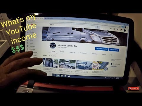 How Much Money Does Mercedes Sprinter DIY and Out On The Reef Makes on Youtube Channel