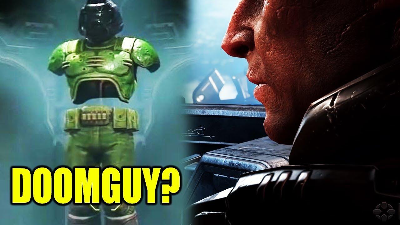 New Doom Eternal Lore Doomguy Identity Reveal Youtube