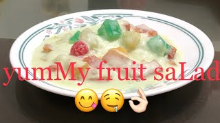 Delicious Pinoy Dessert - Fruit SaLad