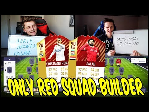 NUR ROTE INFORMS 💎🔥 Extremes 90 RED SALAH Sqaud Builder Battle vs Esportler ⛔️ Fifa 18 Ultimate Team