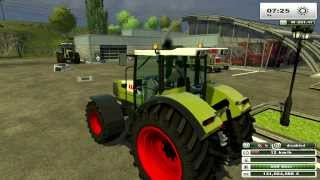 FARMING SIMULATOR 2013 NEW TEST MODS N°39 CLAAS PACK by fmarco95