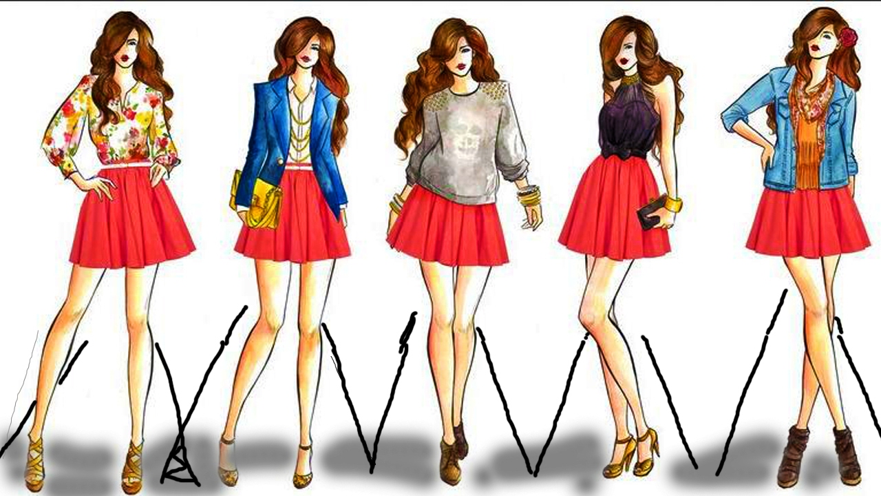 Fashion Design Drawing 2017 Fashion Style Drawing Dress Design Drawing 2017 Youtube