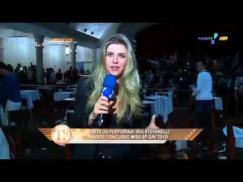TV Fama: Íris Stefanelli Apronta No Miss SP Gay 2013