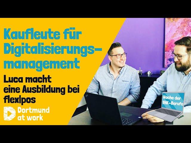 Ausbildung zum/zur Kaufmann*frau für Digitalisierungsmanagement bei flex|pos