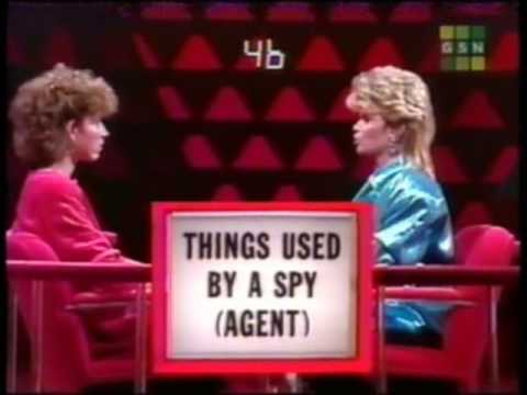 Pyramid Game Show bonus Round -- Markie Post ($100,000