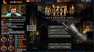DIABLO 2 - MAN VS STREAM - Barbarian - End me plz [Part 1]