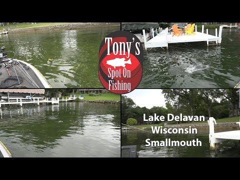 Lake Delavan Wisconsin Smallmouth Bass
