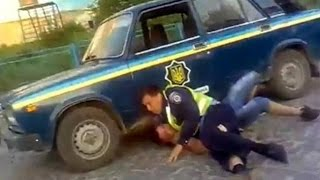 ШОК!!! погоня ГАИ за очень опасным преступником /the pursuit of criminal police