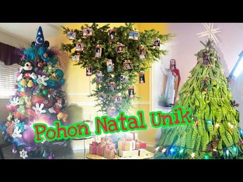 Inspirasi Pohon Natal Unik Kreatif - YouTube