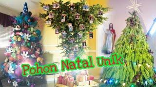 Inspirasi Pohon Natal Unik Kreatif