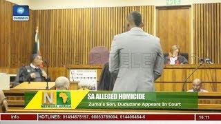 Alleged Homicide: Zuma's Son Duduzane Appears In Court |Network Africa|