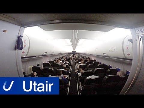 Коротко: Обзор рейса Utair «Владикавказ — Москва» (Боинг 737-500)
