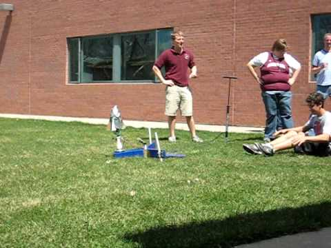 Angevine Middle School: Plastic Bottle Rockets: Rocket 3
