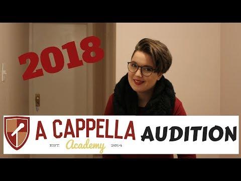 A Cappella Academey Audition 2018 - Megan Clark