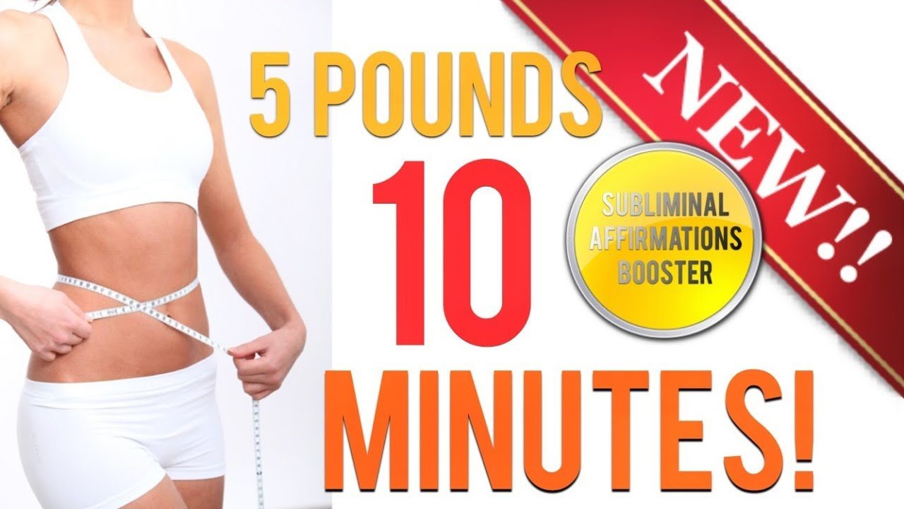 ???? LOSE 5 POUNDS IN 10 MINUTES!! SUBLIMINAL AFFIRMATIONS BOOSTER! REAL RESULTS DAILY!