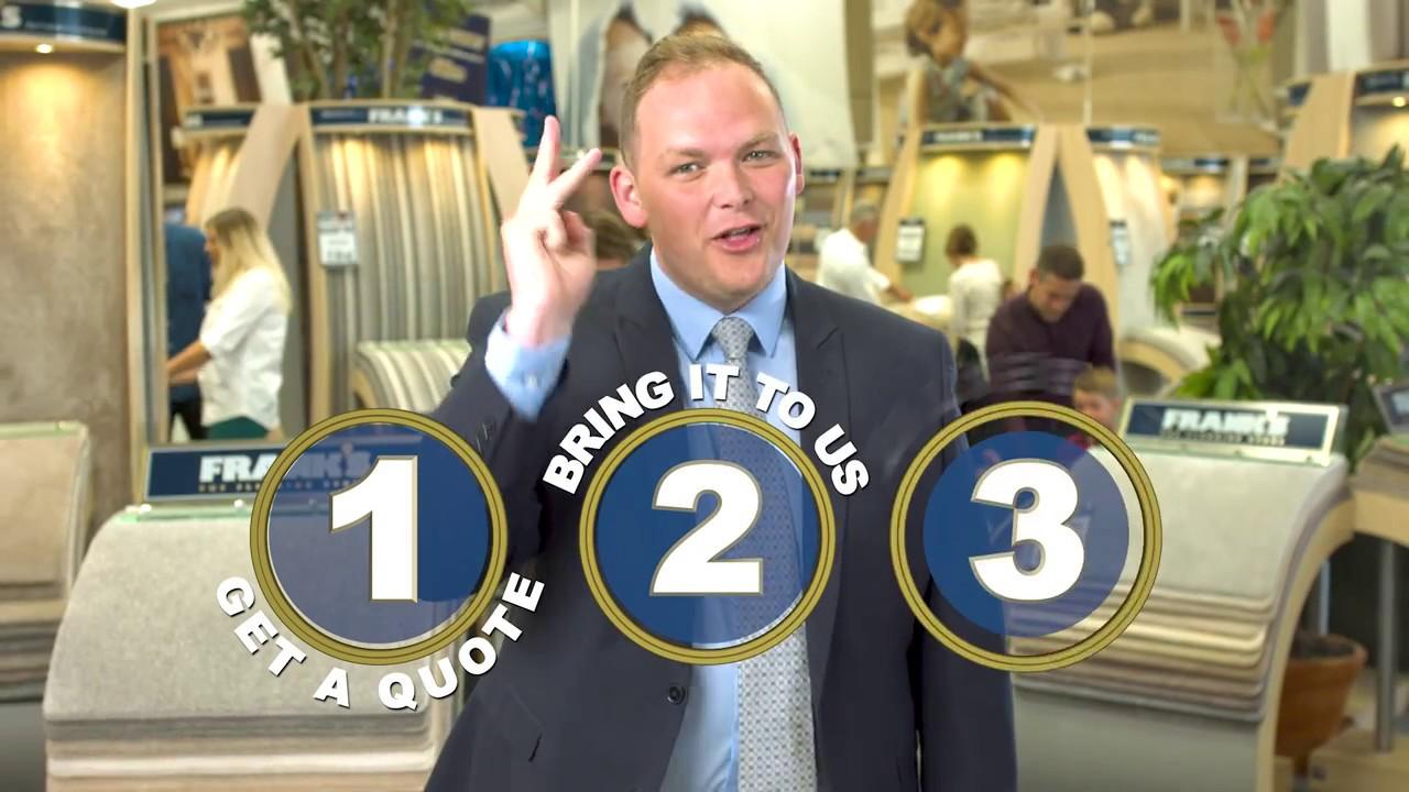 Frank S The Flooring Store Challenge 2017 Tv Advert September 2017 Youtube