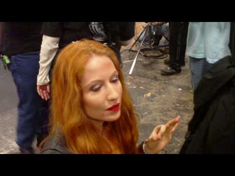 Tara has another writer's orgasm: Legend of the Red Reaper behind the scenes -