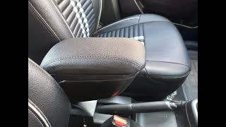 how to install arm rest in swift 2018/universal arm rest/cheapest arm rest/the rider beast Video