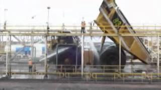 Orlaco Dump Truck Washing- Camera Endurance