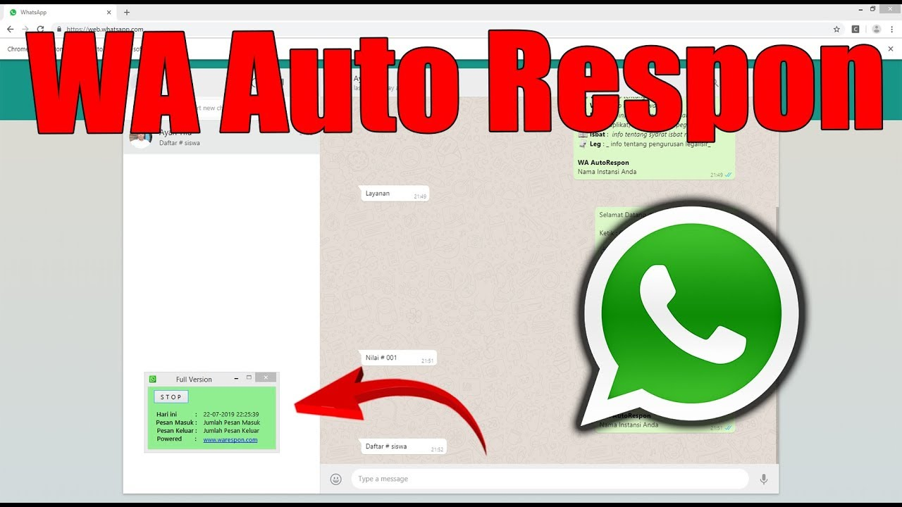 Install Aplikasi Wa Autorespon Aplikasi Excel To Whatsapp Gateway Part 1 Youtube