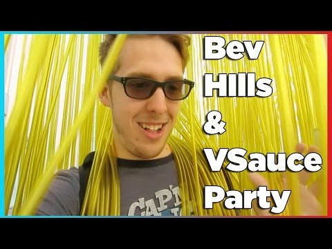 Beverly Hills and VSauce Party | Evan Edinger Travel